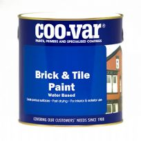 BRICK and TILE Paint Water Based Matt Red